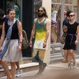 Jared Leto se promène à Saint-Tropez, le 20 juillet 2014.