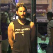 Jared Leto : À Saint-Trop', le rockeur stylé ne passe pas inaperçu !