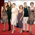 Plus belle la vie - Hélène Medigue, Geoffrey Saveaux, Cécilia Hornus, Sylvie Flepp, Ambroise Michel, Anne Decis. Festival TV de Monte-Carlo en 2006.