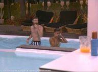 Secret Story 8 : Jessica et Geoffrey très proches, Steph le ''mari'' surveille