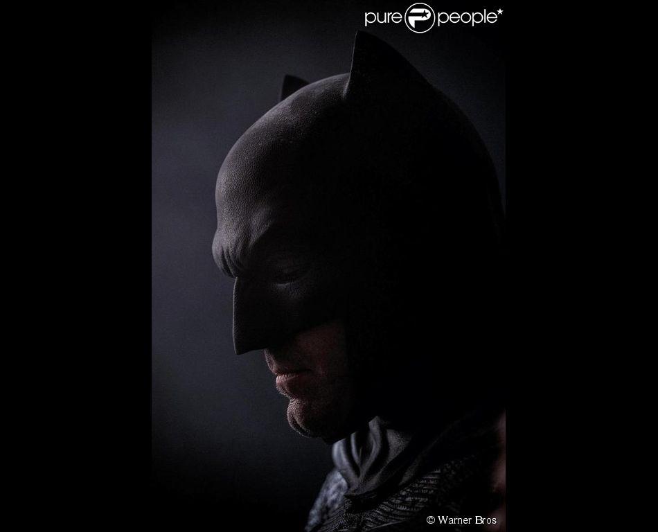 Nouvelle image de Ben Affleck en Batman pour le film Batman v Superman : Dawn of Justice.