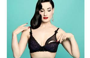 Dita Von Teese : Créatrice de lingerie pour femmes enceintes et sexy