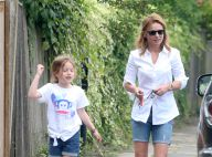 Geri Halliwell : Maman relax avec sa craquante Bluebell, son sosie frappant !