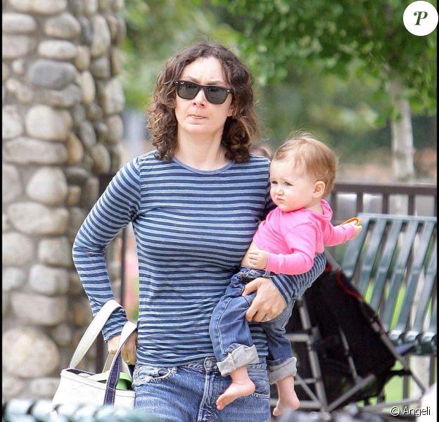 Sara Gilbert et sa fille Sawyer