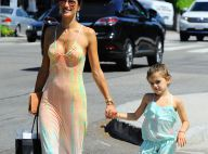 Alessandra Ambrosio : Sport, gourmandises, famille, son week-end parfait
