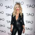 Rita Ora arrive au Tao Nightclub à Las Vegas, le 26 juillet 2014.