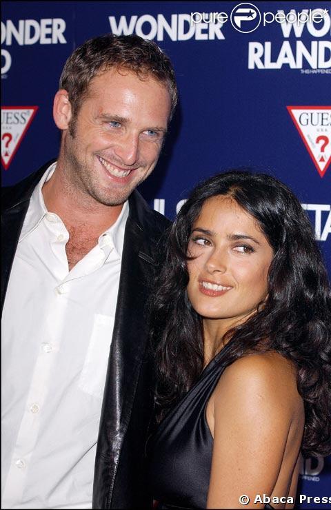 Salma Hayek couple