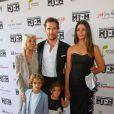Matthew McConaughey, Camila Alves, Kay McConaughey, Levi McConaughey et Vida McConaughey  à  Austin, au Texas, le 24 avril 2014.