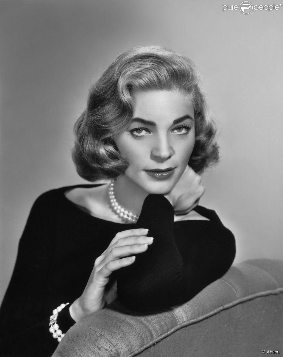 Lauren Bacall en 1957.