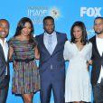 "Columbus Short, Sanaa Lathan, Curtis ""50 Cent"" Jackson"", Kimberly Elise et Affion Crockett à Beverly Hills, le 12 janvier 2010."