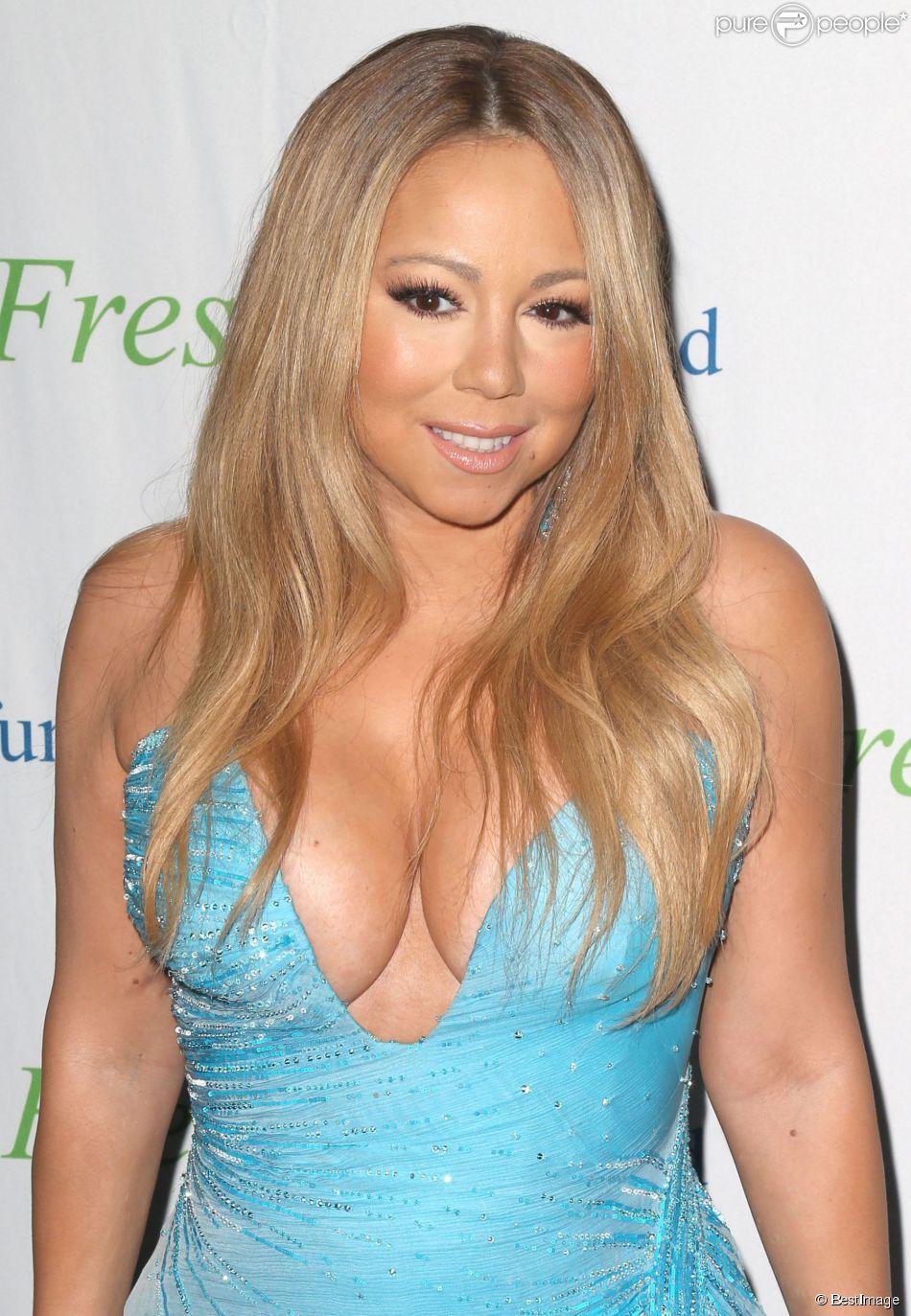 """Mariah Carey à la soirée """"Fresh Air Fund"""" à New York, le 29 mai 2014."""