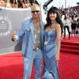 Riff Raff et Katy Perry assistent aux MTV Video Music Awards 2014 au Forum. Inglewood, Los Angeles, le 24 août 2014.