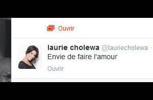 Laurie Cholewa, très coquine sur Twitter : Taquinée par Vincent Cerutti...