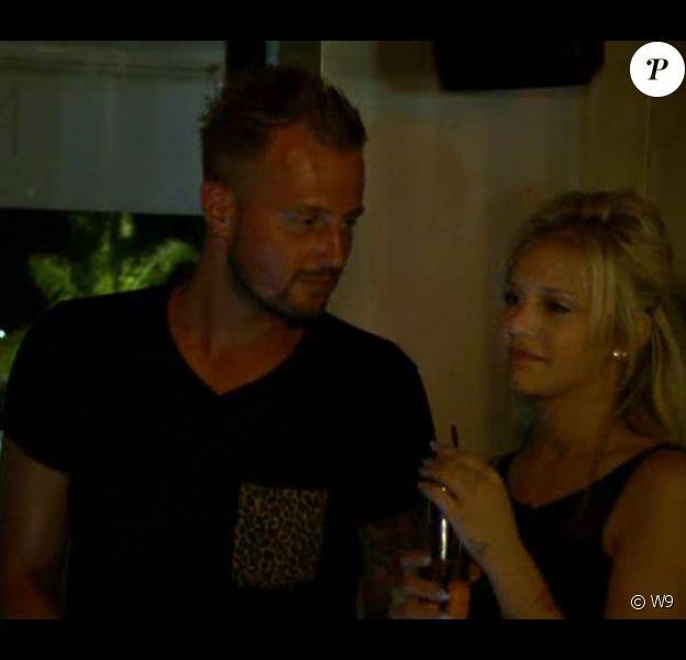 """Geoffrey et Adixia se rapprochent - """"Les Ch'tis dans la Jet Set"""" - Episode du 26 août 2014."""
