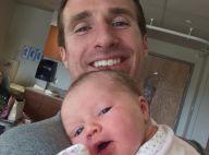 Drew Brees : Le quarterback des Saints papa (enfin) d'une petite fille !