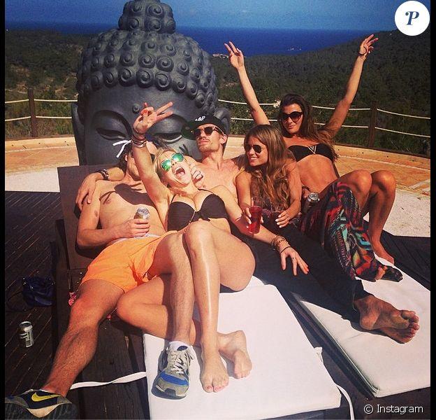 Chelsy Davy, ex du prince Harry, et son amoureux Charles Goode, en mai 2014. Photo publiée sur Instagram par le jeune joaillier. Les deux tourtereaux se sont-ils fiancés au cours de leur séjour en Afrique en août 2014 ?