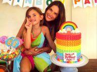 Alessandra Ambrosio : Maman complice avec Anja, qui fête ses 6 ans