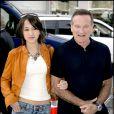 Robin Williams et sa fille Zelda lors de la présentation du film Happy Feet à Los Angeles le 12 novembre 2006