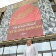 """Gérard Depardieu assiste au festival """"Baltic Pearl"""" à Riga en Lettonie le 28 août 2014"""