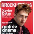 Xavier Dolan en couverture du magazine Les Inrockuptibles.