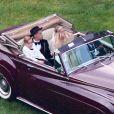 Exclusif - Evan Ross, Ashlee Simpson, accompagnée de son fils Bronx Wentz - arrivent à leur mariage dans la maison de Diana Ross à Greenwich dans le Connecticut, le 30 août 2014.