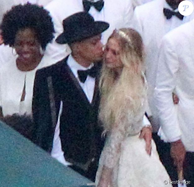 Exclusif - Evan Ross et Ashlee Simpson lors de leur mariage dans la maison de Diana Ross à Greenwich dans le Connecticut, le 30 août 2014.