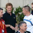 Le prince Harry a officiellement souhaité la bienvenue, le 8 septembre 2014 à Londres, aux quelque 400 compétiteurs engagés pour les Invictus Games du 10 au 14 septembre dans la capitale anglaise. Le même jour, on apprenait que son frère le prince William et sa belle-soeur Kate Middleton attendaient leur 2e enfant.