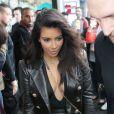 Kim Kardashian et Kanye West sont allés au magasin éphémère Yeezus dans le quartier de South Yarra, à Melbourne. Le 9 septembre 2014.