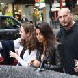 Kim Kardashian à Melbourne, le 9 septembre 2014.