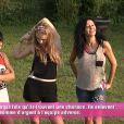 Jessica, Sara, Nathalie et Vivian dans la quotidienne de Secret Story 8, sur TF1, le vendredi 12 septembre 2014