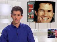 Marc-Olivier Fogiel, à 23 ans : Plein d'assurance pour sa première télé en 1992