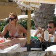 Exclusif - Lauren Conrad et William Tell à Cabo San Lucas pour leurs premières vacances en amoureux, le 13 juillet 2012.