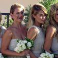 Lauren Conrad et Lo Bosworth, demoiselles d'honneur au mariage de Maura McManus et David Oehm à Ojai, le 16 août 2014.