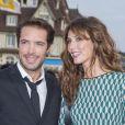 """Nicolas Bedos et Doria Tillier - Avant-première du film """"Sin City"""" lors du 40ème festival du cinéma américain à Deauville, le 13 septembre 2014."""