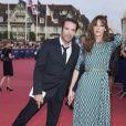 """Nicolas Bedos et Doria Tillier - Avant-première du film """"Sin City"""" lors du 40ème festival du cinéma américain de Deauville, le 13 septembre 2014."""