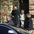 Nicole Kidman, avec sa fille Sunday et son mari Keith Urban, rend visite à sa mère Janelle à Sydney en Australie après l'annonce tragique du décès de son père. 14 septembre 2014