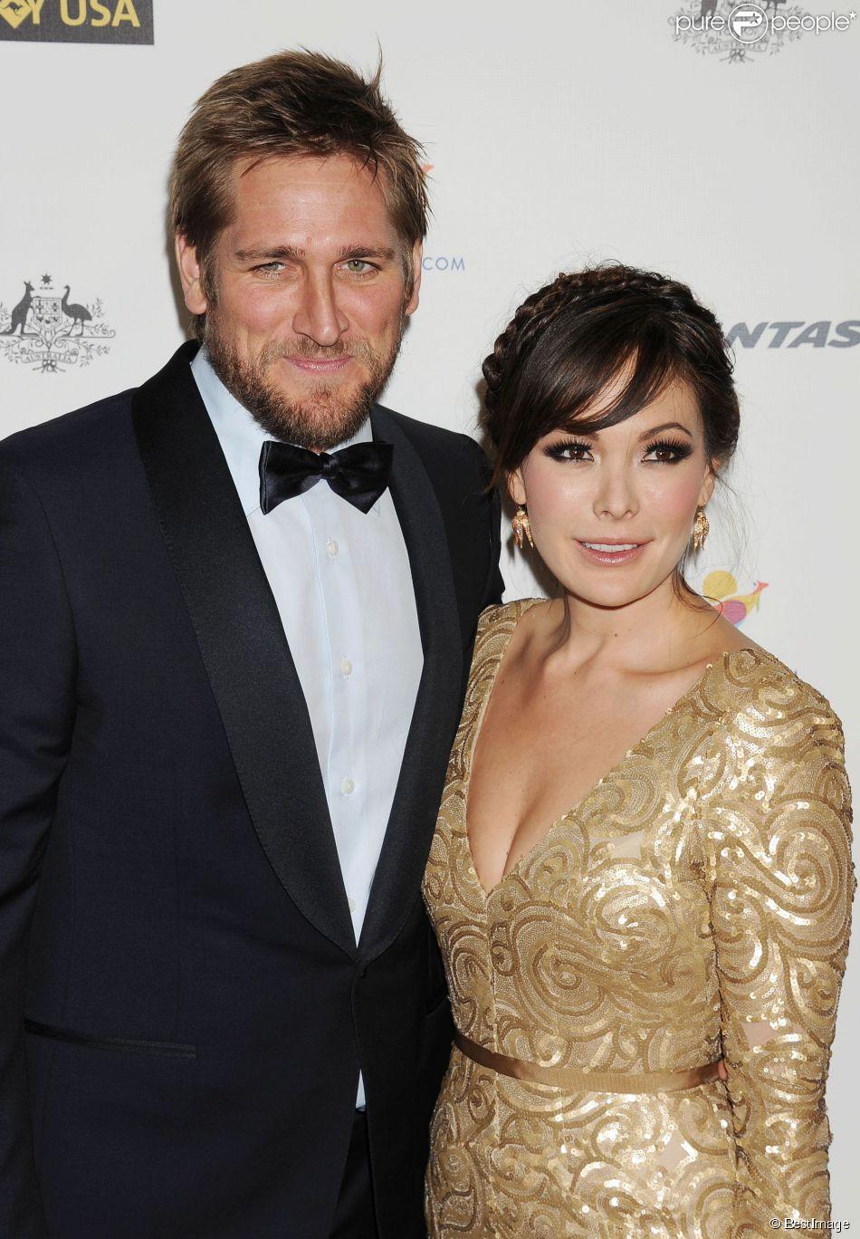 """Le chef Curtis Stone et Lindsay Price - Soirée de gala """"G' Day USA Los Angeles Black Tie"""" au JW Marriott à Los Angeles, le 11 janvier 2014."""