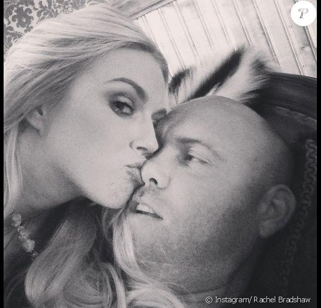 Rachel Bradshaw et Rob Bironas, photo publiée sur son compte Instagram le 5 septembre 2014