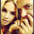Rachel Bradshaw et Rob Bironas, photo publiée sur son compte Instagram le 9 août 2014