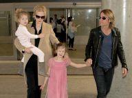 Nicole Kidman de retour en famille à Los Angeles, après les obsèques de son père