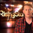 """Louis Deslys -   Emission """"Rising Star"""" sur M6. Le 25 septembre 2014."""