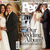 Mariage de George Clooney et Amal Alamuddin : Les photos des superbes mariés !
