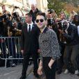 Xavier Dolan -au défilé Chanel à Paris le 30 septembre 2014