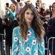 Elisa Sednaoui au défilé Chanel à Paris le 30 septembre 2014