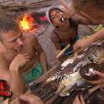 """L'équipe rouge a trop à manger, une grande première ! Quatrième épisode de """"Koh-Lanta 2014"""". Diffusé le 3 octobre 2014 sur TF1."""