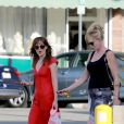 Melanie Griffith et sa fille Dakota Johnson profitent d'une journée entre femmes à Los Angeles, 4 octobre 2014.