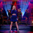 """""""La bombe Taylor Swift chante Shake it off, dans Le Grand Journal, le lundi 6 octobre 2014, sur Canal+"""""""
