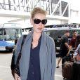 Katherine Heigl à l'aéroport de Los Angeles, le 15 juillet 2014.