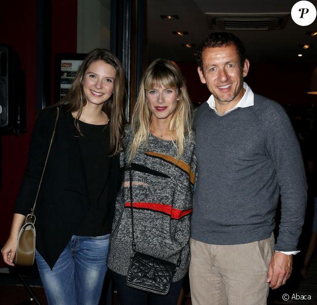 Dany Boon, Mélanie Laurent et Joséphine Japy lors du Festival international du film de Saint-Jean-de-Luz, le 10 octobre 2014
