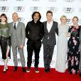 Andrea Riseborough, Emma Stone, Michael Keaton, Alejandro Gonzalez Inarritu, Edward Norton, Naomi Watts, Amy Ryan, Zach Galifanakis au 52e festival du film de New York, le 11 octobre 2014.